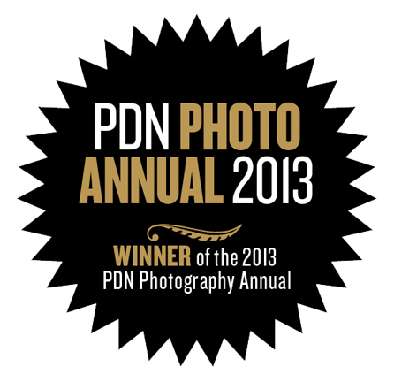 Winner of the 2013 PDN Photography Annual, NYC